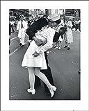1art1 New York - Der Kuss Zum Kriegsende Poster Kunstdruck