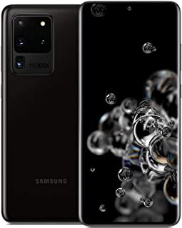 """Samsung Galaxy S20 Ultra 5G (128GB, 12GB RAM) 6,9"""" AMOLED 2X, Snapdragon 865, 108MP Quad Câmera, a Global 5G Volte (GSM + ..."""