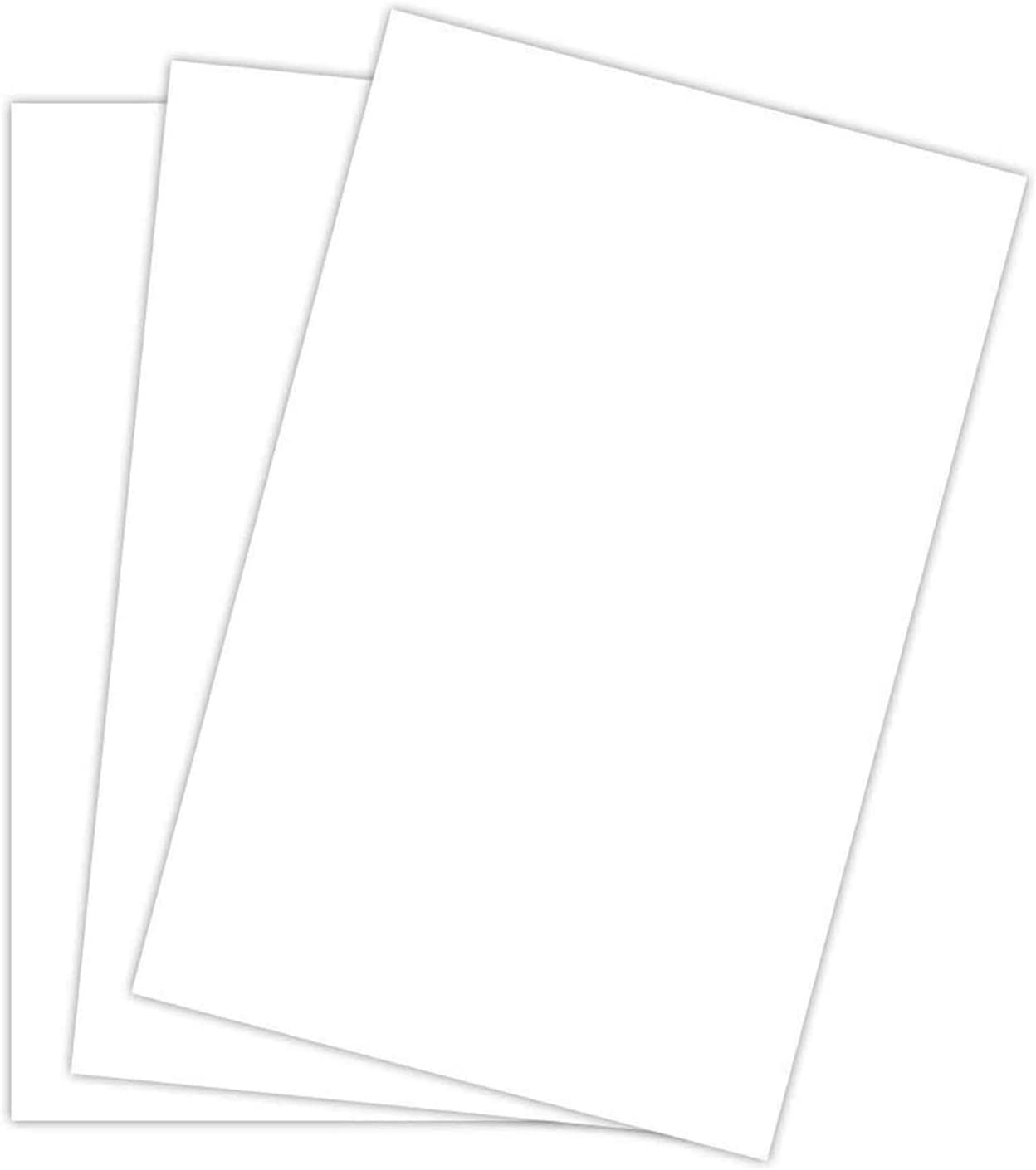 White Card Stock Paper   11 x 17 Inches   Tabloid or Ledger   10