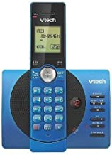 VTech CS6929-15 DECT 6.0 Expandable Cordless Phone System with Answering Machine, 1 Handset - Blue