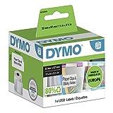 DYMO LW Etichette Multiuso Originali, Autoadesive, per Etichettatrici LabelWriter, 1 Rotolo da 1000 Etichette Facilmente Staccabili, 32 x 57 mm