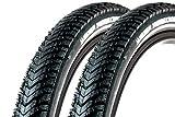 2 Stück 28 Zoll Michelin Fahrrad Reifen 42-622 Pannenschutz Mantel Decke 28x1.6 Tire