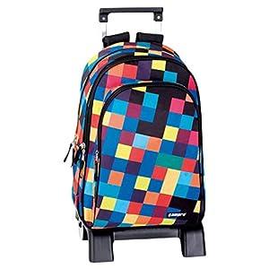 51e8hSymniL. SS300  - Perona Campro Mochila Escolar, 42 cm, Multicolor