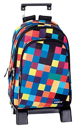 Perona Campro Mochila Escolar, 42 cm, Multicolor