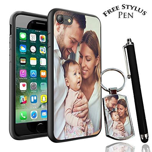 Schutzhülle für iPhone X/iPhone 10, personalisierbar, Schlüsselanhänger + Eingabestift, Samsung Galaxy J5 2017
