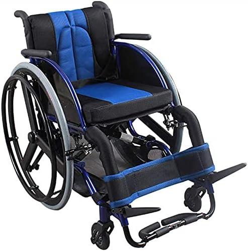 Large Max 44% OFF Wheel Wheelchair Folding Alloy Portable Wheelchai Los Angeles Mall Aluminum