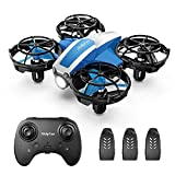 Holyton Mini Drone for Kids Beginners, Hand Operated Remote control Micro Quadcopter with 21 Mins Flight Time, Auto Rotation, Auto Hover, Circle Fly, 3D flip, Throw to Go, Nano Indoor Toys for Boys and Girls