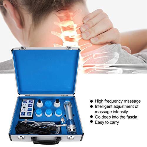 QIYE ED Stoßwellentherapiegerät, Multifunktionales Schmerzlinderungs-Massagegerät, Tiefengewebe Massagegerät, Schmerzreduktion gegen Cellulite