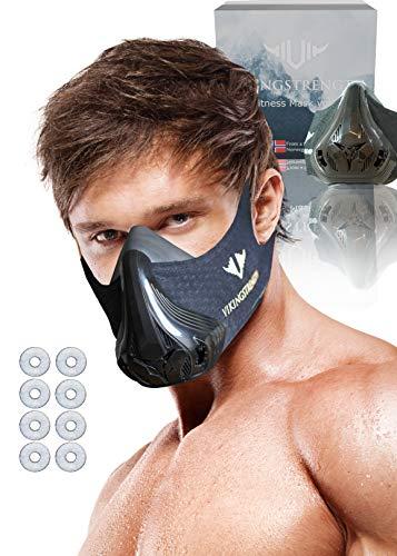 Vikingstrength-High Altitude Training und Elevation Maske VOL.2, schwarz - midnight black