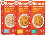 BANZA Chickpea Mac and Cheese Variety Pack High Protein, Gluten Free Mac and Cheese, Healthy...