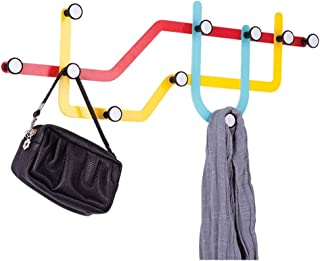 Vêtements Airer Porte-Manteau Creative Porte-Clés Cintres Serviette Crochet Wallentry Hall Stand Vêtements Chapeaux Foular...