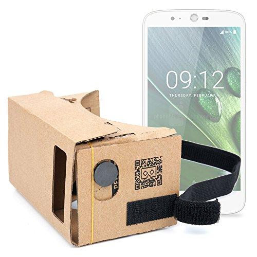DURAGADGET Gafas de Realidad Virtual VR para Smarphone Acer Liquid Zest Plus/ASUS ZenFone 2 Deluxe Special Edition