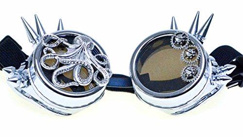 Preisvergleich Produktbild Steampunk Brille Steampunk Goggle mit Dornen