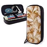 Patrón floral Vector Lindo Bolígrafo Estuche para lápices Bolsa de cuero Bolsa Estuche para lápices Caja de cremallera