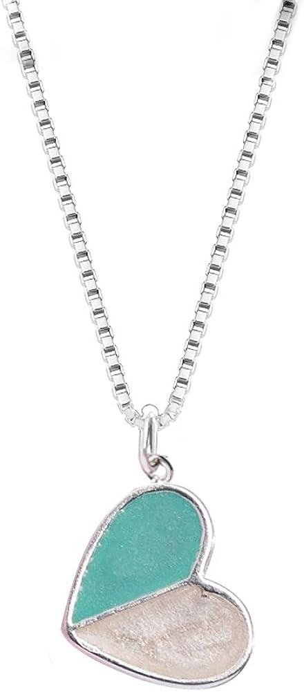 Helen de Ranking TOP9 Lete Ice Cream Sterling Fashionable Silver Heart Necklace Collar