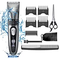 NOOA Cordless Rechargeable Hair Clippers Kit for Men