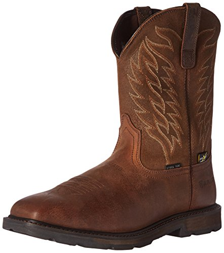 ARIAT Men's Groundbreaker Wide Square Metguard Steel Toe Work Boot, Brown, 10.5 D US