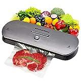 Macchina Sottovuoto per Alimenti KitchenBoss Sottovuoto Macchina Vacuum Sealer Professionale...
