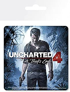 1art1 Uncharted Coaster - 4, Cover (4 x 4 inches)