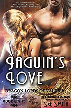 Jaguin's Love: Science Fiction Romance (Dragon Lords of Valdier Book 8) by [S.E. Smith]