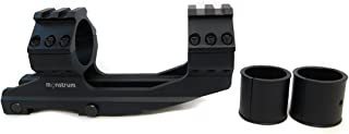 Monstrum Tactical Cantilever Dual Ring Scope Mount, Offset Design, with Top Rails for 30 mm or 1 inch Scopes