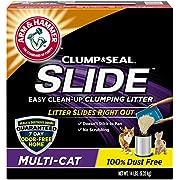 Arm & Hammer Slide Clumping Cat Litter, Multi Cat, 14 lb