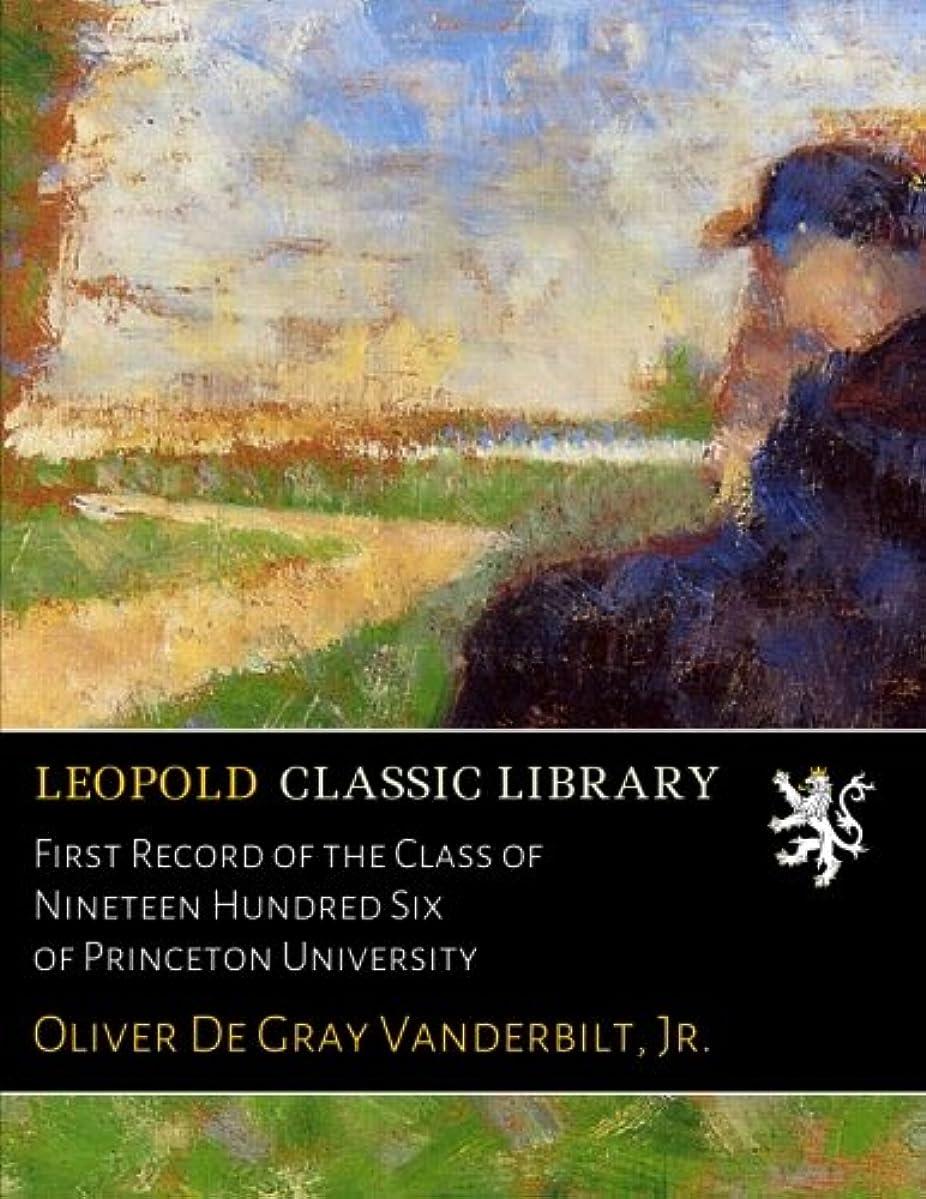 援助するタブレット木First Record of the Class of Nineteen Hundred Six of Princeton University