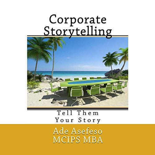 Corporate Storytelling audiobook cover art