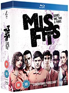 Misfits - Series One, Two & Three