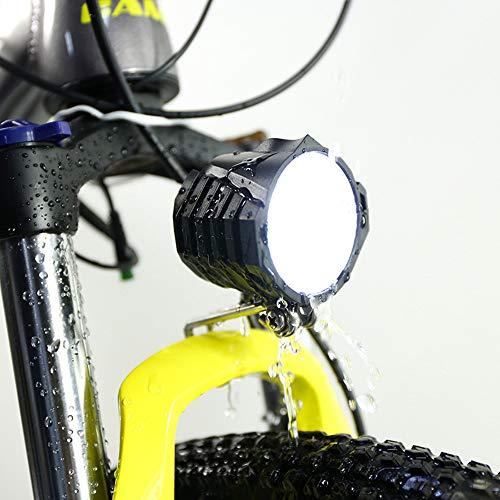 Shengmilo LED Faro Delantero autopropulsado eléctrico, Juego de Luces LED, luz Blanca...
