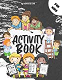 Activity Book For Kids: Over 400 Activities Workbook|Daily Practice Brain Book for ... ,Alphabet,Maze,Coloring,Puzzle,Riddles,Quizes