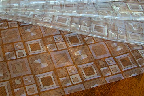 Home Direct Mantel de Hule, Rectangular 140 x 180cm Transparente