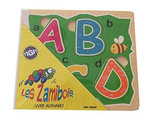 Les Zamibois : livre alphabet en bois (1974)