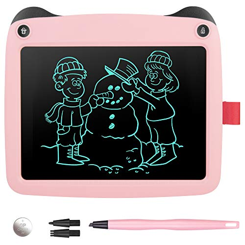 Handwriting Paper Drawing Tablet for Kids Adults at Home School Office Electronic Writing Drawing Doodle Board Erasable GoodKE 8.5 Inch LCD Writing Tablet