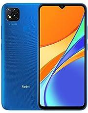 """Xiaomi Redmi 9C Smartphone 3GB 64GB 6.53"""" HD+ Dot Drop display 5000mAh (typ) AI Face Unlock 13 MP AI Triple telecamera [Versione globale] Blu"""