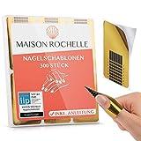 MAISON ROCHELLE® [300 Stück] Nagelschablonen...