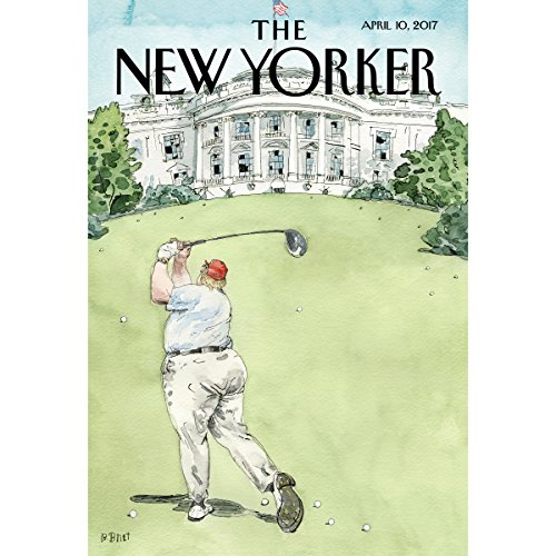 The New Yorker, April 10th 2017 (Amy Davidson, Alec Wilkinson, Calvin Tomkins) cover art