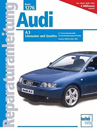 Audi A3 2001-2004: Dieselmodelle mit Einspritzung Pumpe/Düse, 100/130 PS. (Reparaturanleitungen)