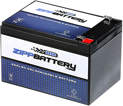ZIPPBATTERY 12V 12AH - Rechargeable,...