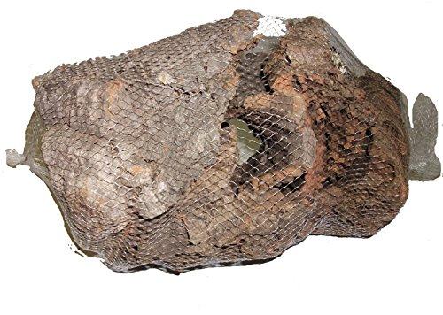 Knabberkork von SAHAWA® Korkrinde, Bastelkork groß im Netz 500g, Naturkork, Terraristik, Modellbau