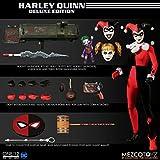 Mezco DC Suicide Squad Harley Quinn Deluxe figura de acción