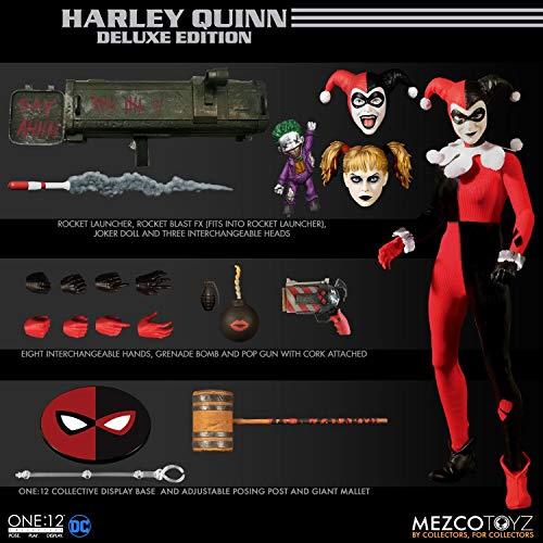 Mezco DC Suicide Squad Harley Quinn Deluxe Action Figure