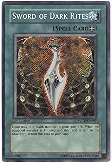 Yu-Gi-Oh! - Sword of Dark Rites (FOTB-EN067) - Force of the Breaker - Unlimited Edition - Secret Rare