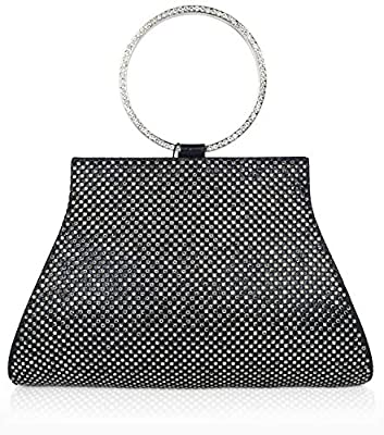 Crystal Clutch for Women Wrist Evening Bag
