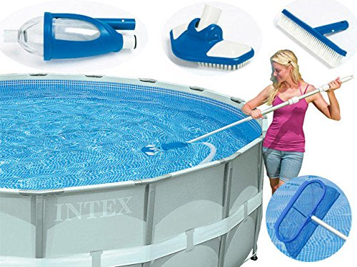 Legnagoferr - Kit para limpieza de piscinas Deluxe Intex 28003 con ...
