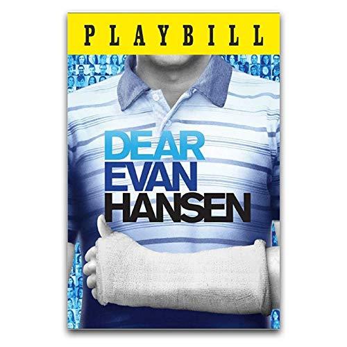 WPQL Dear Evan Hansen (Ben Platt) Póster de arte moderno para el hogar, hotel, mural decorativo de impresión artística, póster clásico de 30 x 45 cm