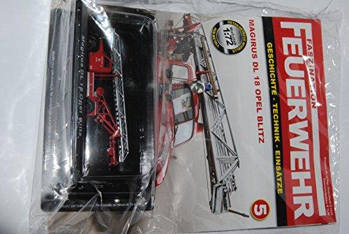 DeAgostini . Faszination Feuerwehr Nummer 5: Magiers DL 18 Opel Blitz - Modellauto-Sammlung