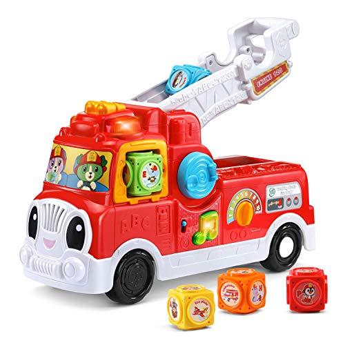 LeapFrog Tumbling Blocks Fire Truck, Red