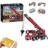 WANZPITS Technic All-Terrain Piling Platform 17003 Building Kit; superbes cadeaux de vacances de grue d'ingénierie, Compatible con Avec Lego technic,(2828 Pieces)