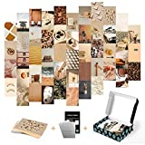photo collage kit for wall aesthetic indie decor grey black white baddie trendy...